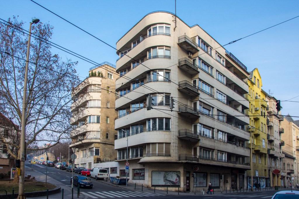 Buda Bauhaus Szent Margit Korut