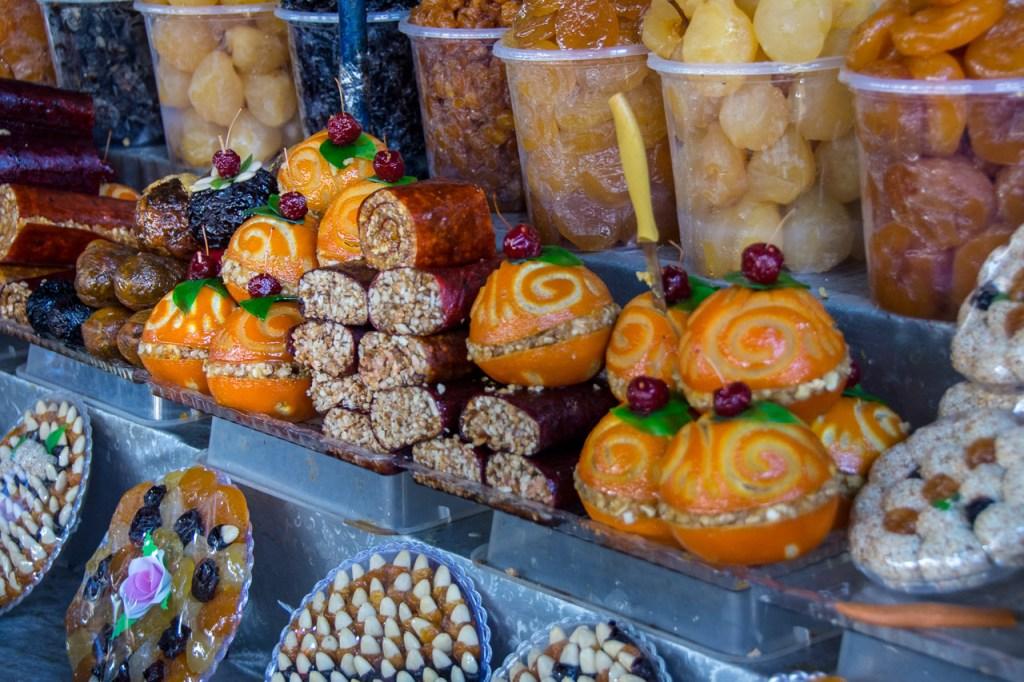 shopping in the Caucasus - Armenian edible souvenirs