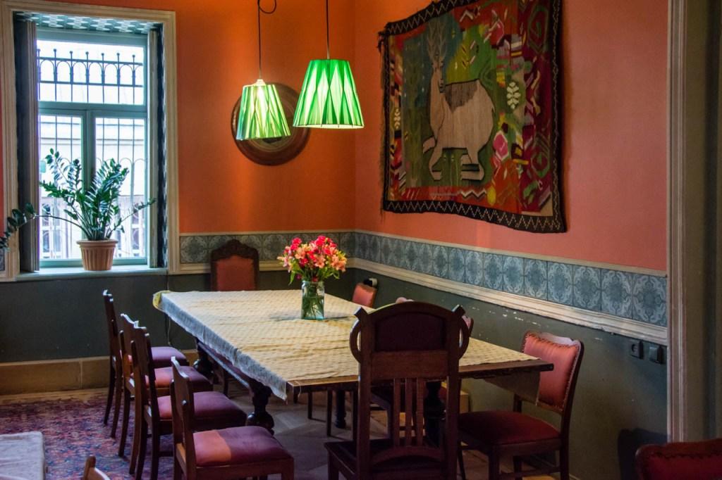 Shavi Lomi Restaurant Interior, Tbilisi