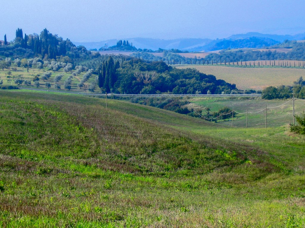 Tuscany - the road to Pienza
