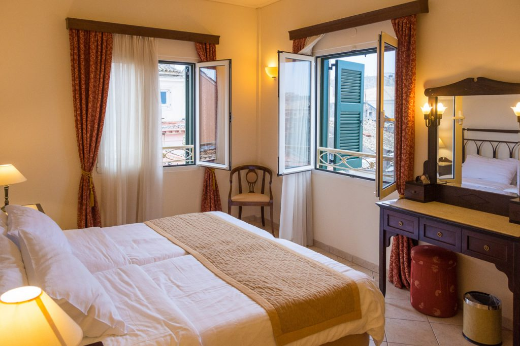 Guest Room with a view at Hotel Arcadion Corfu