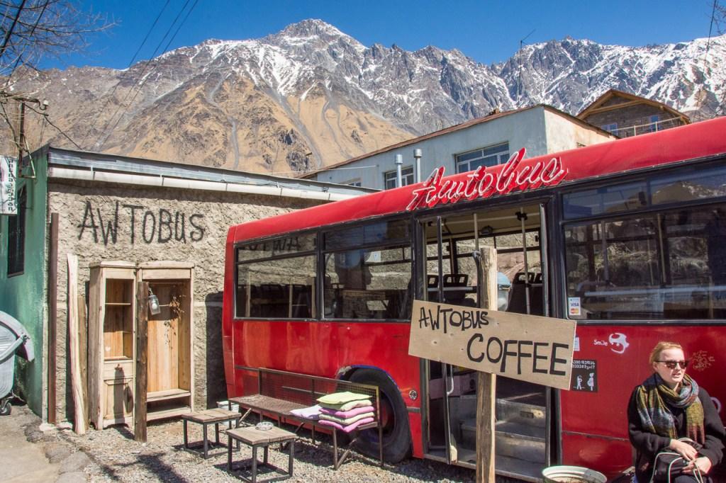 Kazbegi Avtobus Cafe