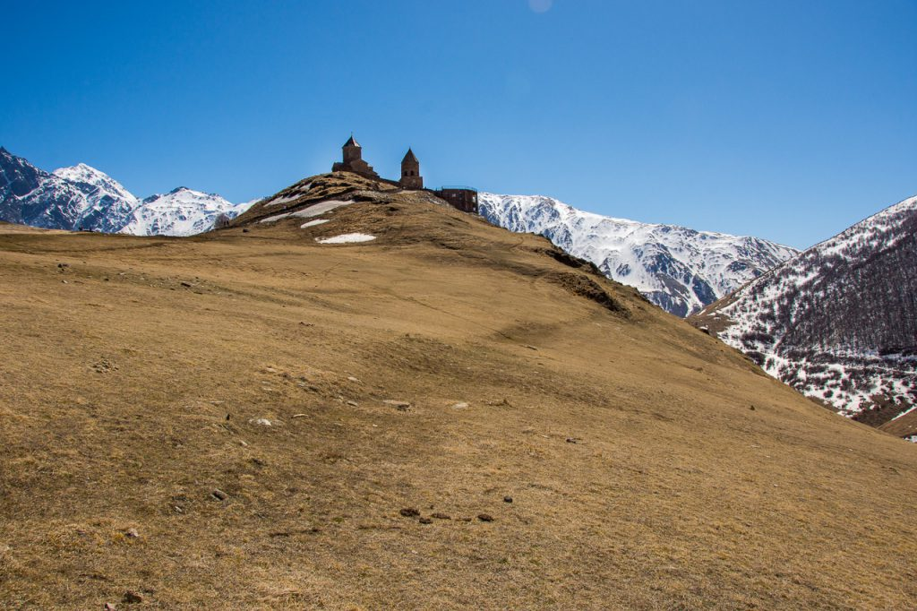 Gergeti Trinity Church hiking path
