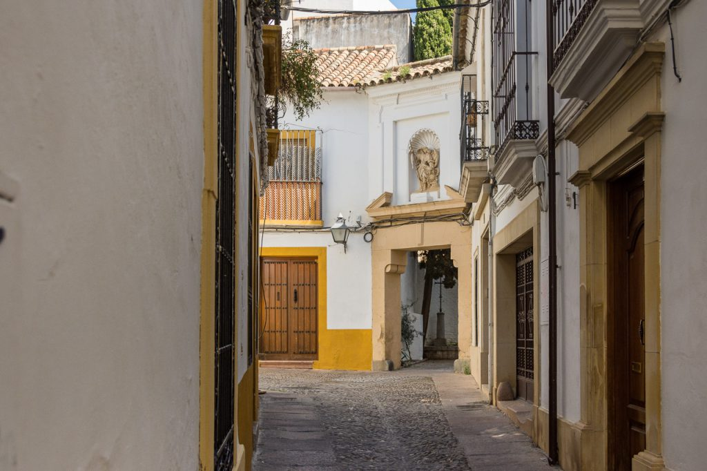 Lane in Old Cordoba
