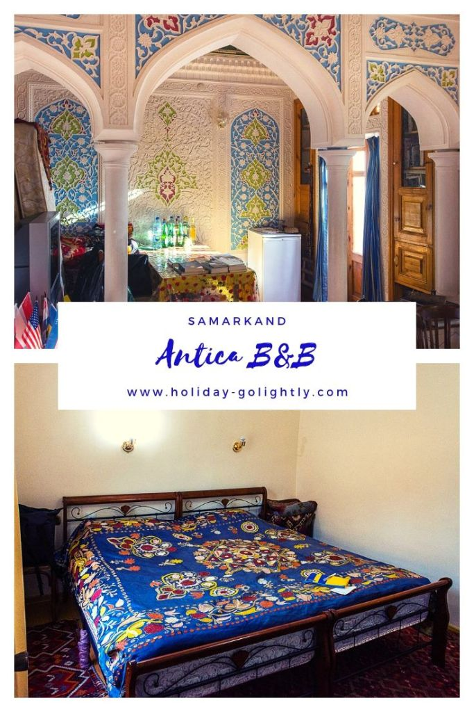 pin- Antica B&B Samarkand