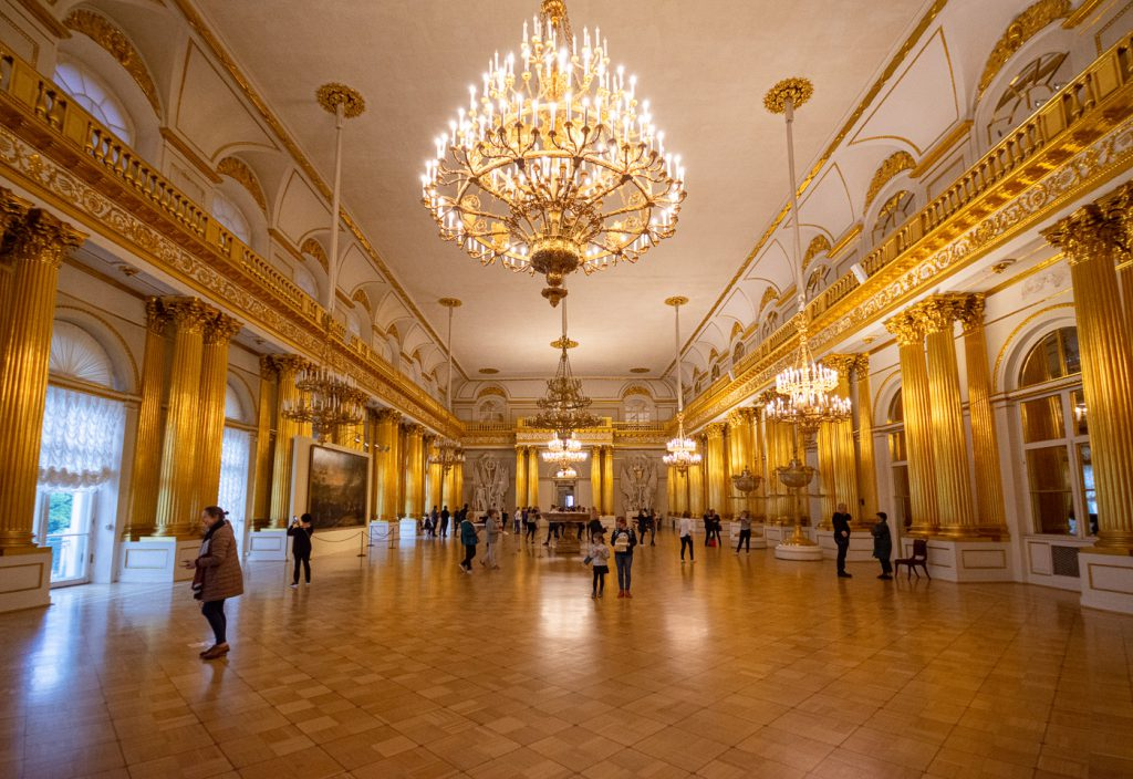 The Ballroom at the State Hermitage Museum