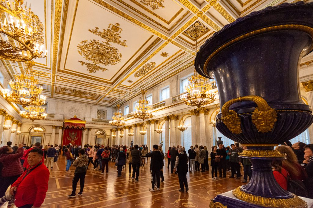 St Georges Hall, Winter Palace State Hermitage Museum, St. Petersburg