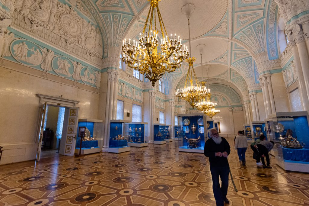 Alexanders Hall, Winter Palace State Hermitage Museum, St. Petersburg