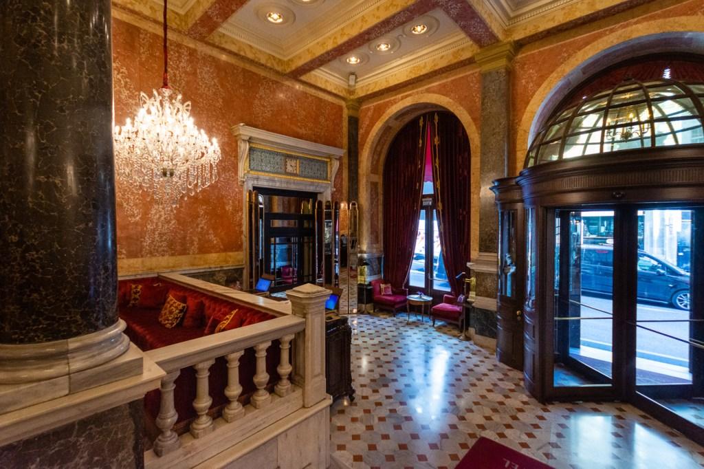 Istanbul, Turkey, Pera Palace Hotel