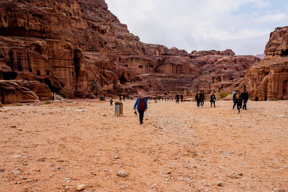 View of the Amphitheatre, Petra, Jordan