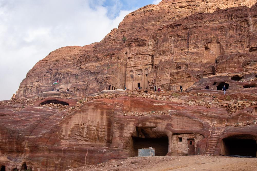 Royal Tombs at Petra, Jordan