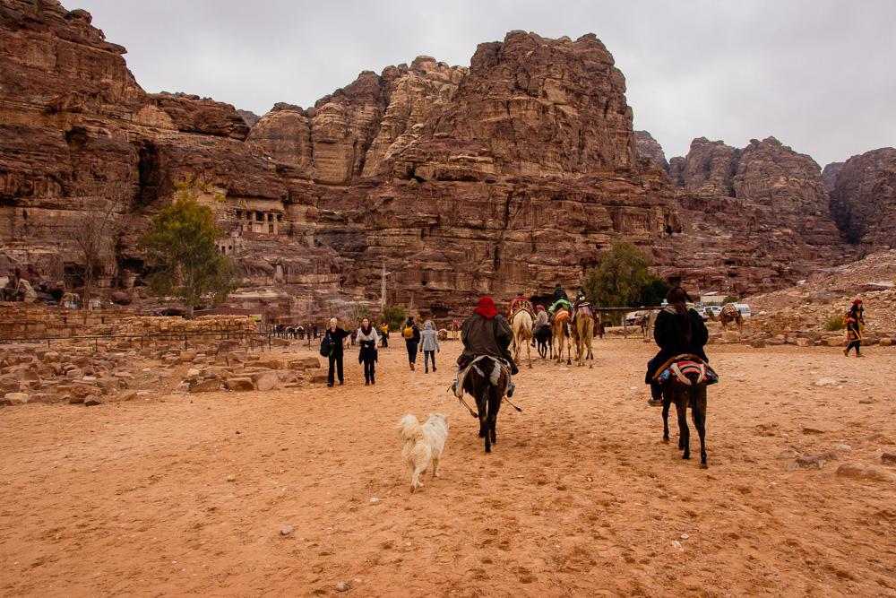 The Basin at Petra, Jordan