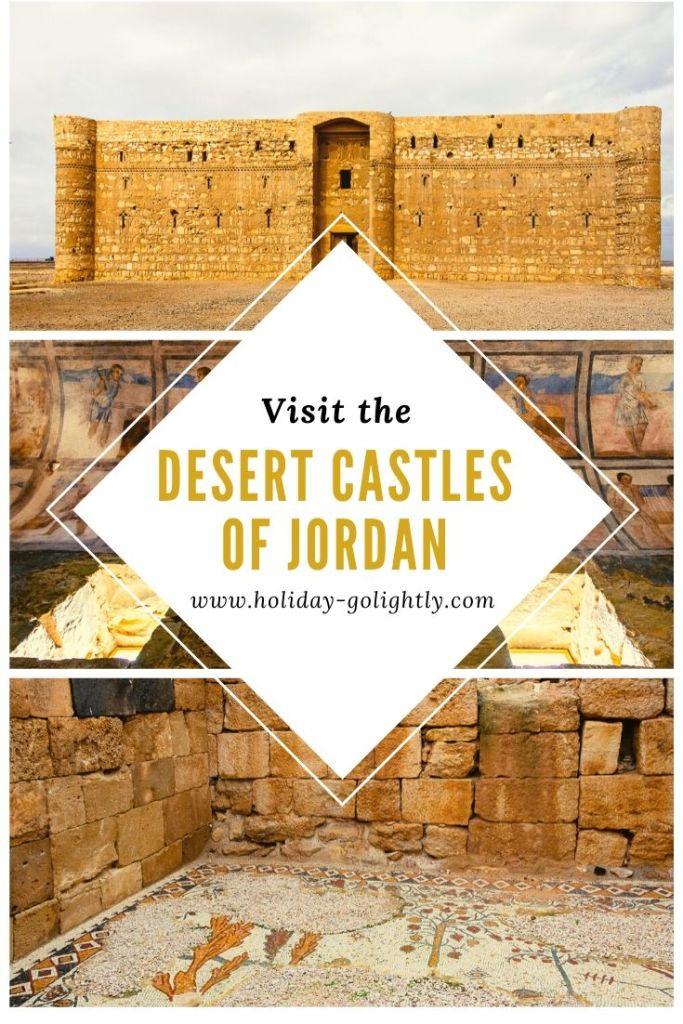 Desert Castles pin
