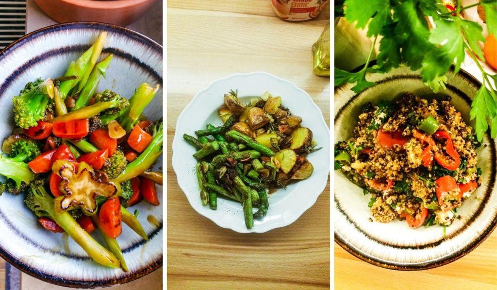 vegan healthy meals with few ingredients