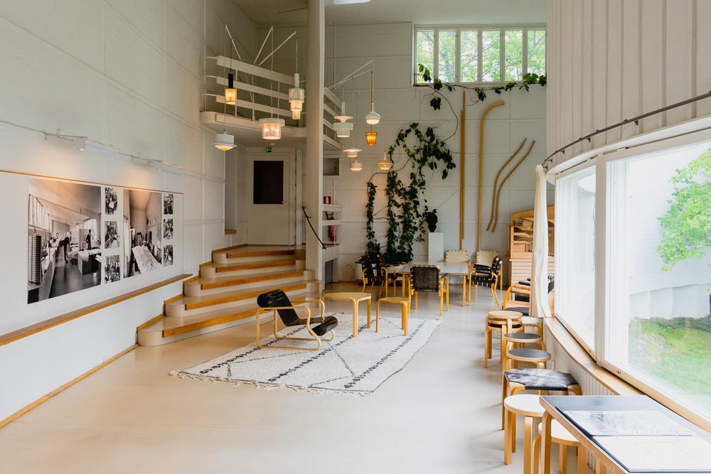 Studio Aalto Helsinki, office and atelier of Alvar Aalto
