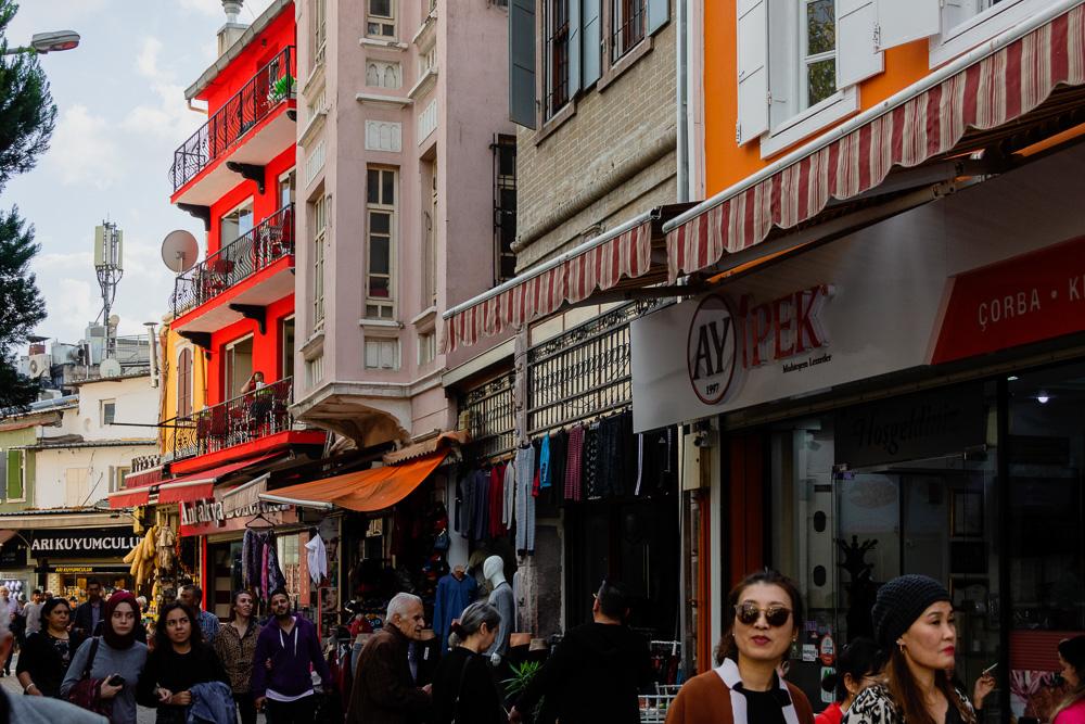 Kemeralti Bazaar in Izmir
