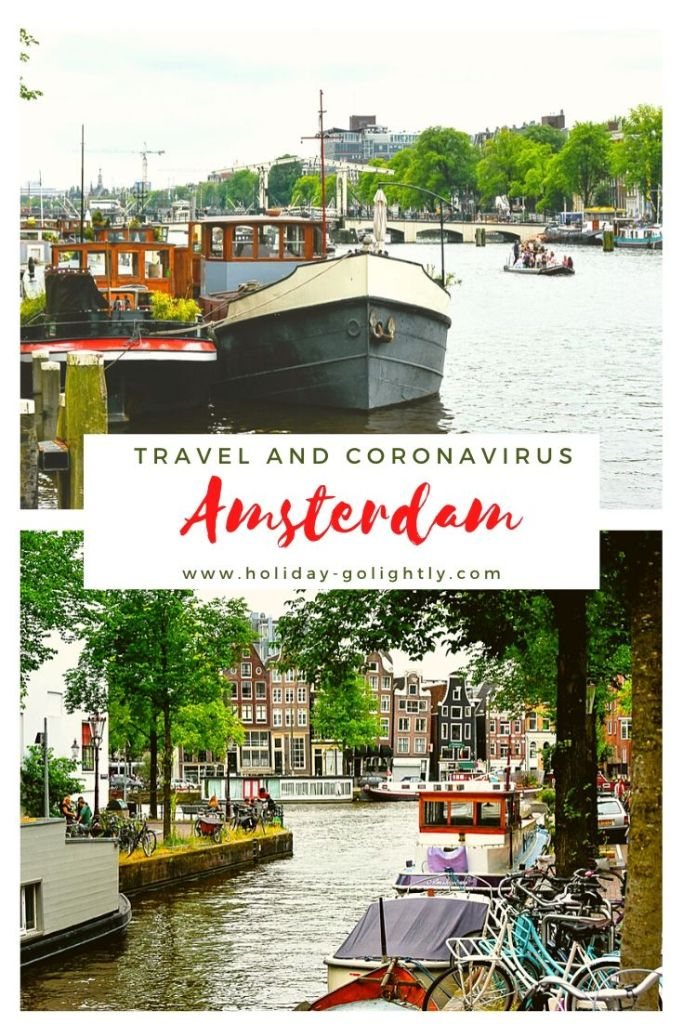 Amsterdam in summer 2020 pin