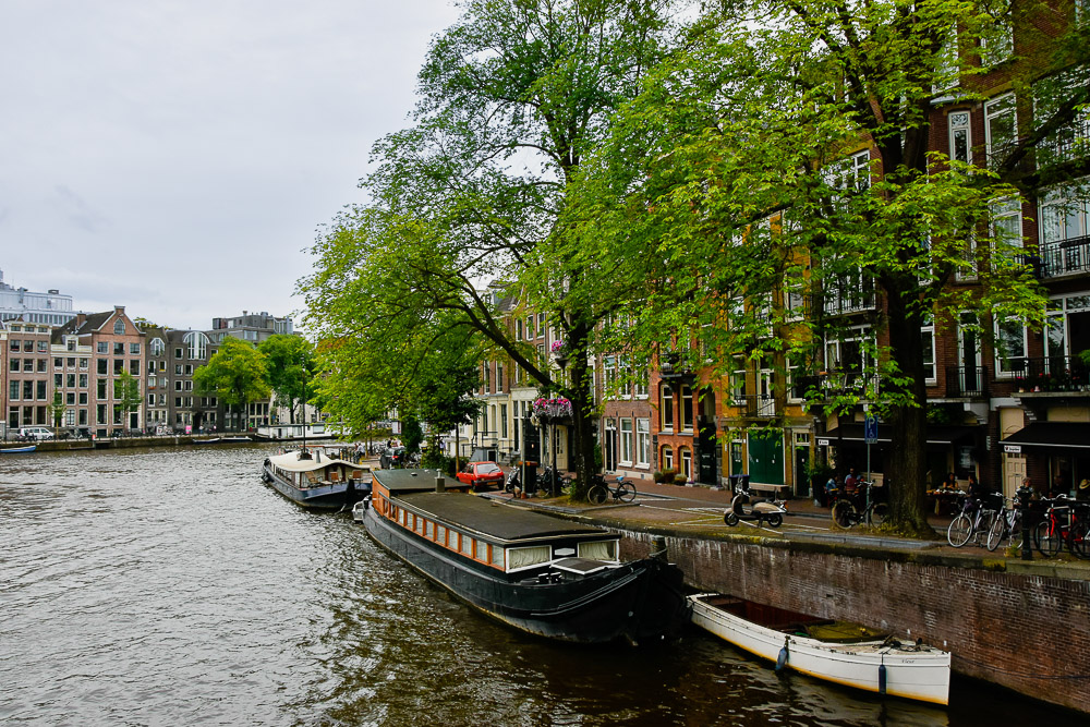 Amsterdam in summer 2020