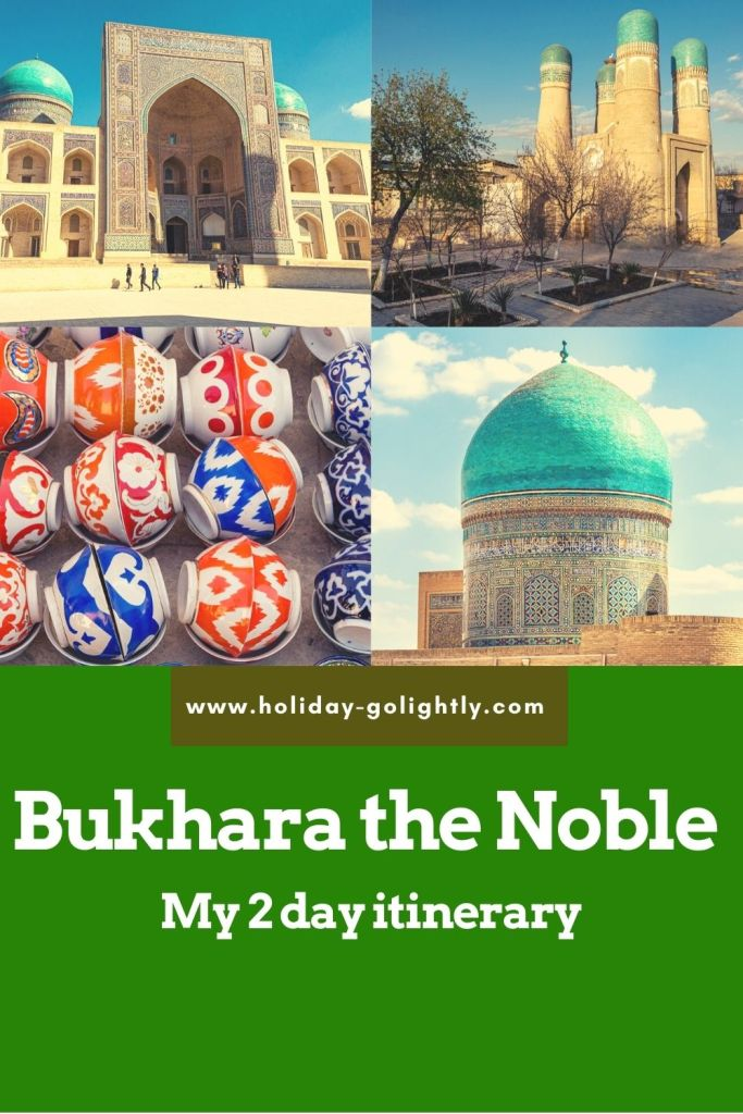 two day Bukhara guide pin