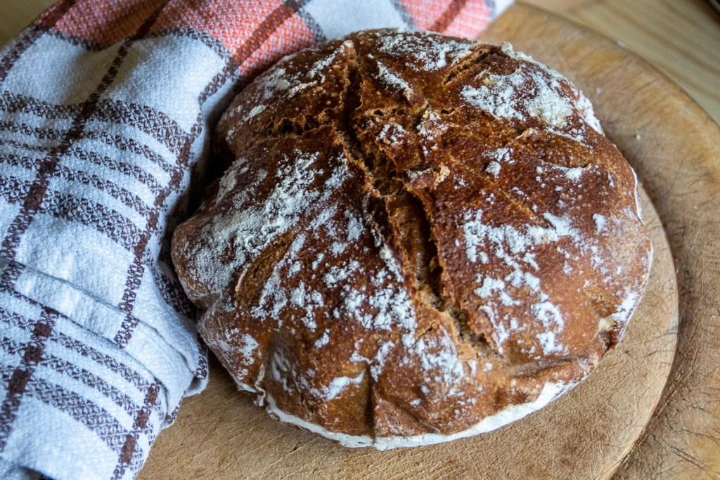 sourdough bread for non-bakers