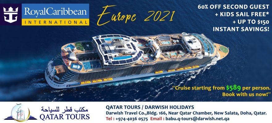 Royal Caribbean 2021 Web Banner