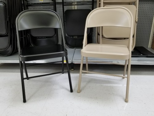 Fabulous Walmart Get Folding Chairs For 9 83 Or 5 Pc Card Table Theyellowbook Wood Chair Design Ideas Theyellowbookinfo