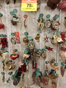 most of the christmas ornaments and other christmas decorations were 75 off grab a few for next year for yourself or as a gift