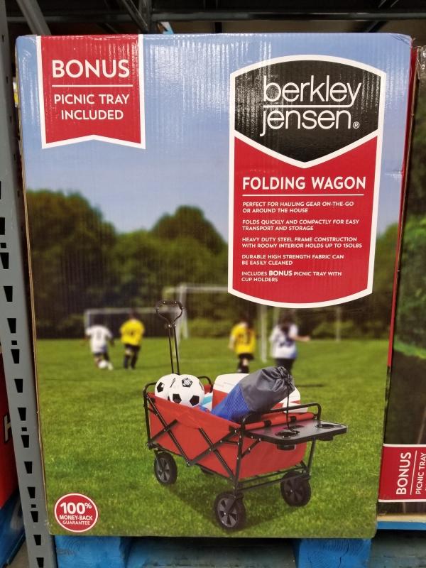 Pleasant Bjs Wholesale Club Berkley Jensen Folding Wagon 44 98 Cjindustries Chair Design For Home Cjindustriesco