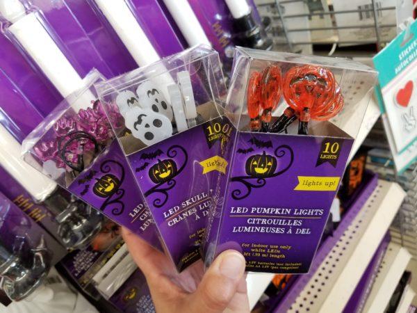 $1 00 String Lights – Pumpkins or Bats or Skeletons – at