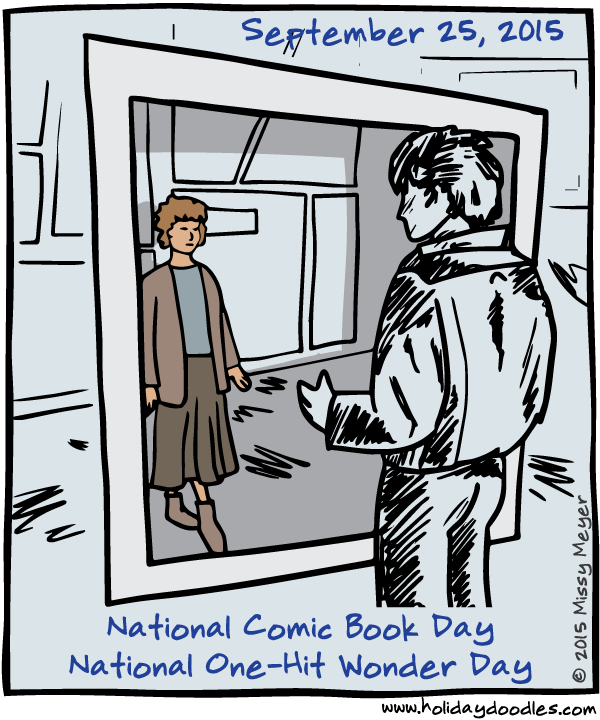 Free Comic Book Day 2015: September 25, 2015: National Comic Book Day; National One