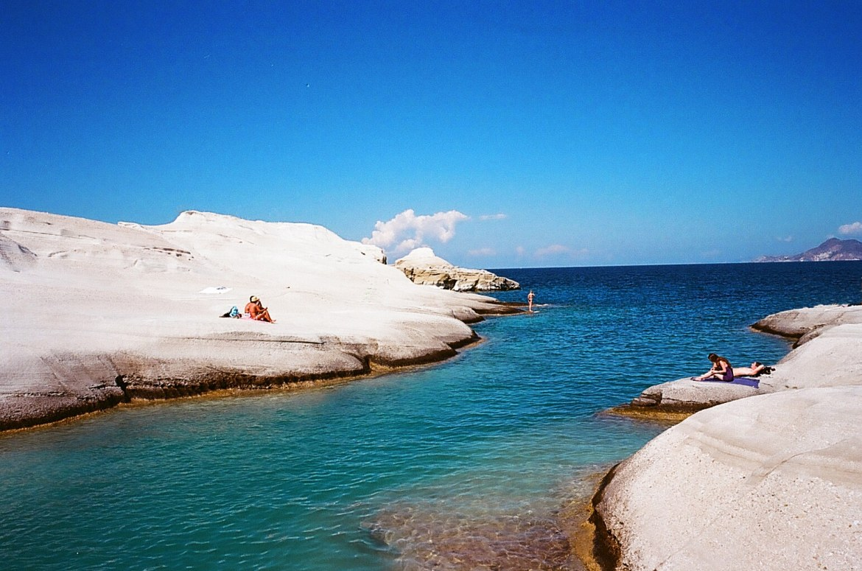 Milos, Greece, Sarakiniko