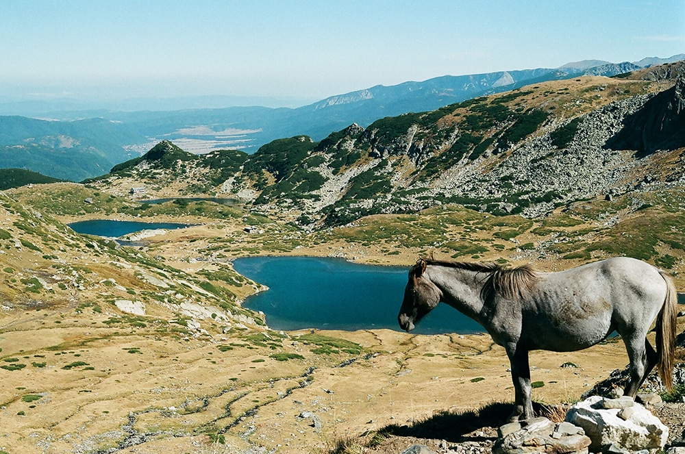 Hiking Seven Rila Lakes in Bulgaria.