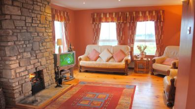 Haven Cottage Dunfanaghy - living room
