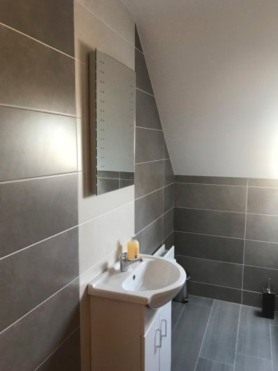 ensuite of 16 Patrick's Hill Dunfanaghy