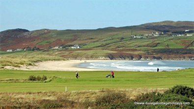 Dunfanaghy Golf Club and Killahoey Beach