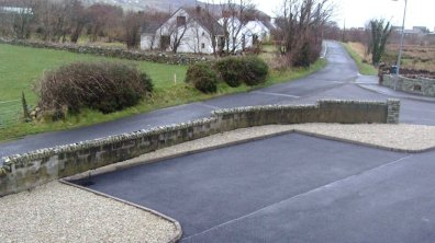 Lakeview Dunfanaghy - to front of house