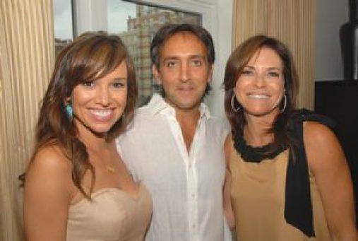 Sara Gore of LXTV, Stephan Sparta, Iris Dankner