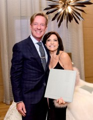 "Iris Dankner and Frette Celebrate The Kick-Off Of Holiday House NYC And The Release Of The Anniversary Book ""10 Years Of Decorating For A Cure"""