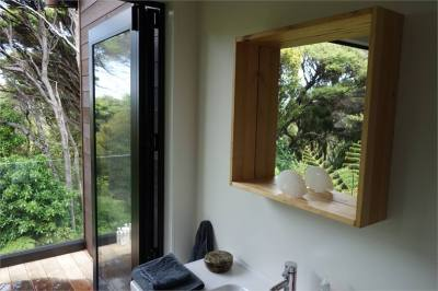 Great Barrier Island Holiday Home accommodation. The Pavilion
