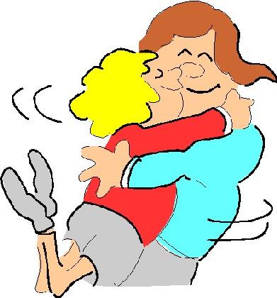 hugging, day