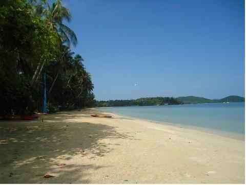 Отдых на островах Тайланда, остров Ко Мак, лучший пляж Ао Yai