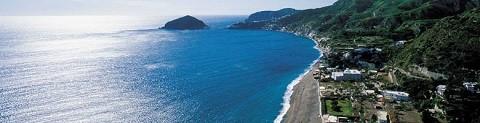 Отдых на острове Искья - пляж Маронти