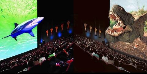 Отдых в Эйлате - кинотеатр в формате IMAX