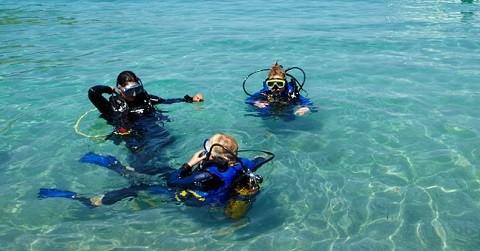 Отдых на острове Крит, дайвинг