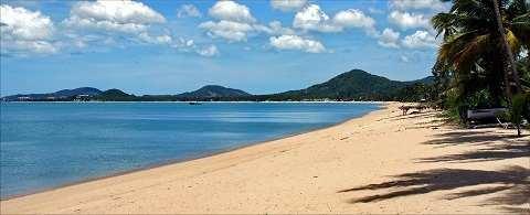 Отдых на островах Тайланда, Самуи пляж Мэнам