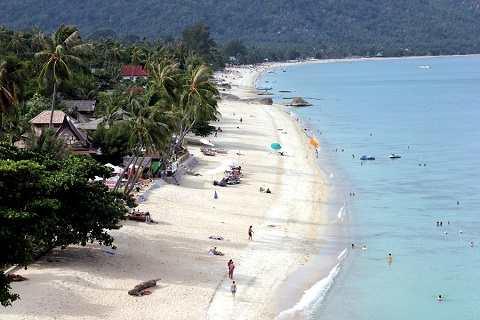 Отдых на островах Тайланда, Самуи - пляж Ламай