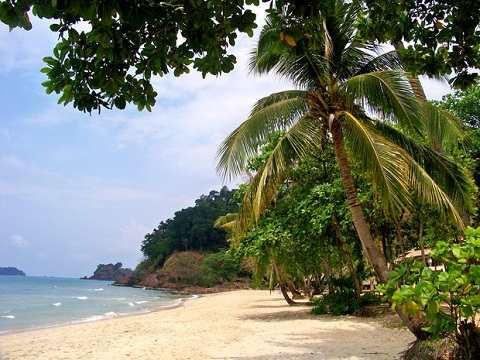 Отдых на островах Тайланда, Ко Чанг, великолепный пляж Лонли Бич