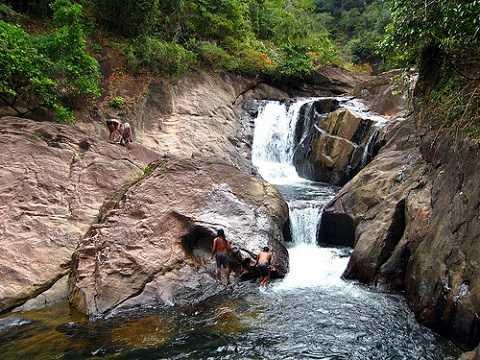 Отдых на островах Тайланда, Ко Чанг, водопад Тан Майом