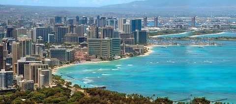 Отдых на Гавайских островах - столица Гавайев, город Гонолулу