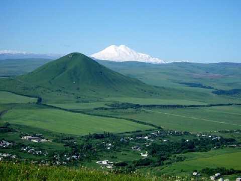 Кавказские Минеральные Воды - ландшафт Кавминвод – горы и степи